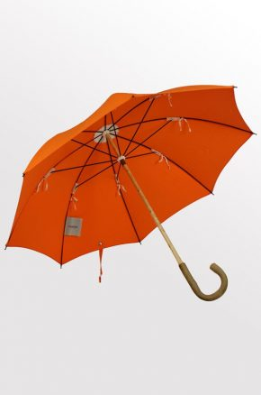 Ash with Orange cover. Lockwood Umbrellas. 2016. 1.2