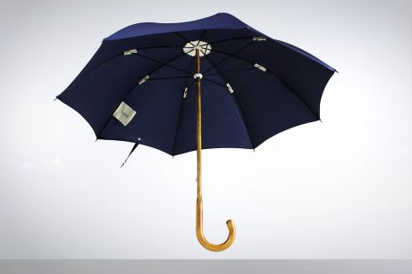 Maplewood umbrella with Navy cotton canopy
