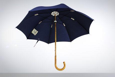 Maplewood umbrella with Navy cotton canopy