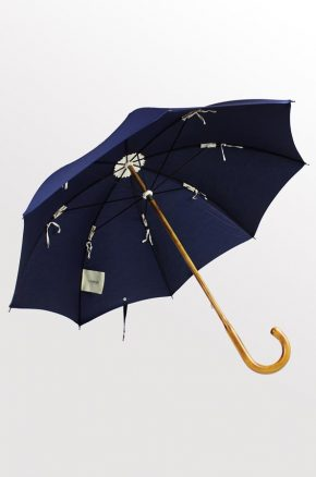 Maple with Navy cover. Lockwood Umbrellas. 2016. 1.2